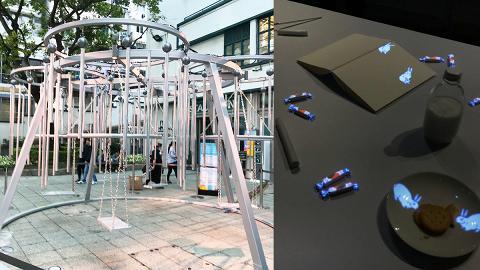 【上環好去處】上環deTour 11大展覽+影相位 風鈴鞦韆/聲影大白兔/浮水染