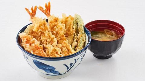 【青衣美食】日本天丼TENYA進駐香港 率先試招牌天婦羅丼/烏冬/蒿麥麵