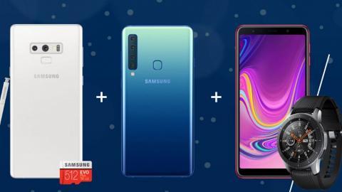 電訊公司CSL上台限定優惠 送3大Samsung產品+無限次維修