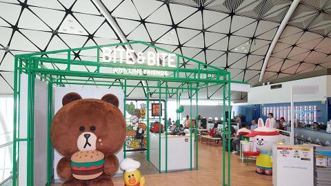【香港機場美食】Line Friends主題餐廳Bite & Bite登陸香港 餐牌/賣點率先睇