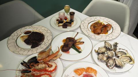 【觀塘美食】觀塘新酒店海鮮半自助餐 任食長腳蟹/龍蝦/即開生蠔/壽司刺身
