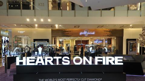 【情人節好去處2019】Hearts On Fire情人節優惠活動 影相免費送玫瑰糖花