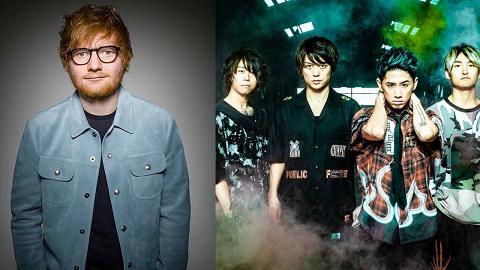 【Ed Sheeran香港演唱會】日本天團強勢助陣!ONE OK ROCK任亞洲巡唱暖場嘉賓