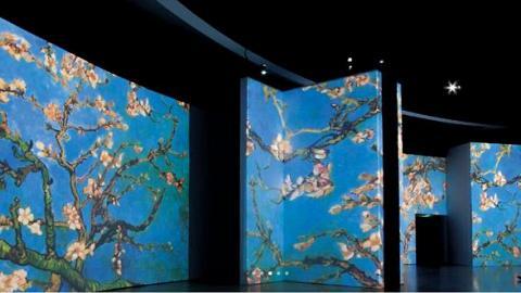 【九龍灣好去處】香港梵高多感官體驗展日期+門票詳情 3000幅名畫一睹梵高世界