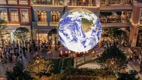 【灣仔/荃灣好去處】全球首個7米巨型自轉地球登場 超震撼太空人視角俯瞰地球