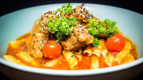 【灣仔美食】灣仔新開番茄主題健康餐廳 自家熬製鮮甜濃郁番茄湯/番茄飯