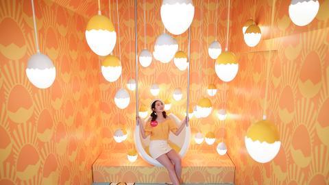 【復活節好去處2019】尖沙咀雞蛋主題樂園展覽 10大影相位/霓虹燈牆/蛋撻池