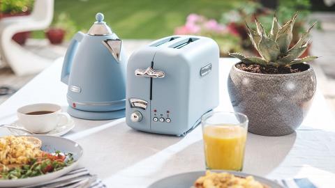 意大利家電品牌新推4款粉色小家電!電水壺/多士爐/咖啡機