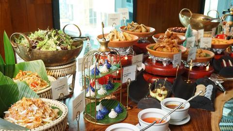 【尖沙咀美食】望維港海景歎泰國菜半自助餐 任食超過30款泰式小食/甜品
