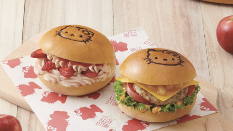 美心西餅聯乘Sanrio新推Hello Kitty麵包系列 獨家限定精品/多款可愛造型甜品