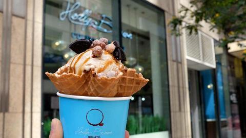 【中環美食】人氣咖啡店Holly Brown新推限時優惠 $38任食Gelato炒雪糕