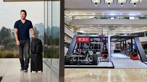 【復仇者聯盟4】星爵Chris Pratt下周現身金鐘!TUMI體驗館AR影相區同星爵自拍