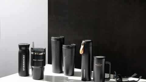 Starbucks新推型格黑色系列不鏽鋼杯!全新口味馥莓石榴/芒果星冰樂登場