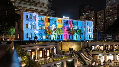【尖沙咀好去處】1881公館免費睇3D光影表演 全新8分鐘彩色投影講香港歷史!