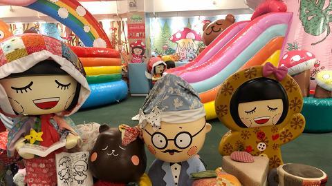【親子好去處】Chocolate Rain遊樂場餐廳登陸將軍澳 影相位/彈床/波波池/滑梯