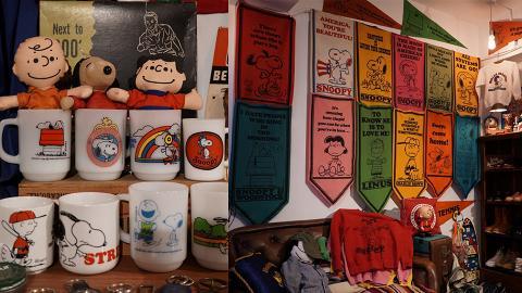 【銅鑼灣好去處】銅鑼灣Snoopy主題精品店!60年代絕版衛衣/70年代香港製公仔