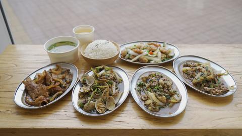【粉嶺美食】粉嶺新開台式鐵板燒店 $45起歎即叫即炒鐵板套餐/任添蔬菜+任飲