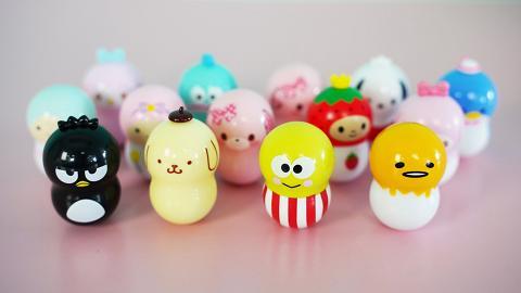 16款Sanrio角色不倒翁扭蛋登場 Hello Kitty/玉桂狗/布甸狗/Little Twin Stars