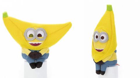 香蕉造型Minions排排坐公仔7月登場!三款迷你兵團大頭造型+表情率先睇