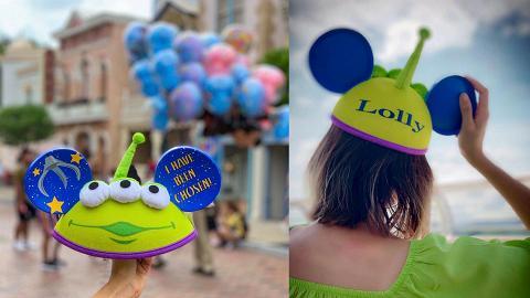 香港迪士尼樂園推出三眼仔造型米奇帽!《反斗奇兵》限定版 刻名自製專屬帽背