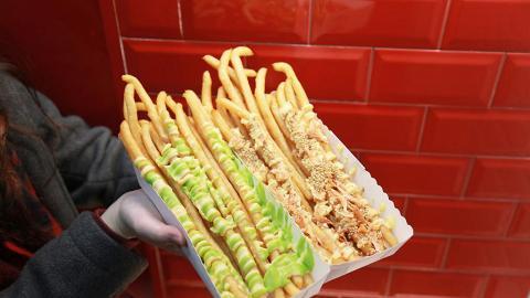 【旺角美食】旺角日式超長薯條店 結業優惠全部醬汁口味$10