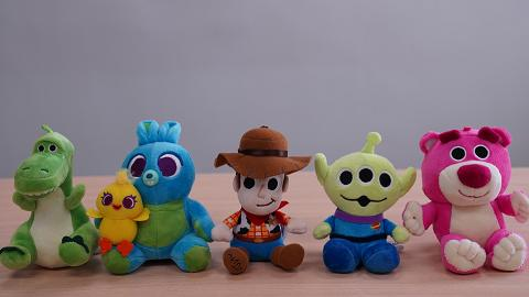 迪士尼Pixar反斗奇兵Q版公仔藍牙喇叭!胡迪/三眼仔/勞蘇/阿得賓尼/抱抱龍