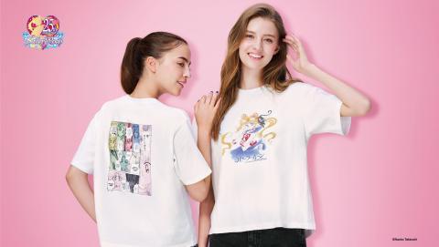 UNIQLO聯乘美少女戰士8月香港開售!漫畫原稿華麗設計 重現經典作戰場景