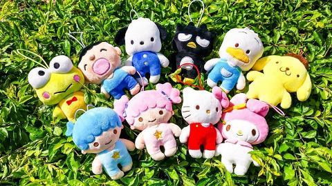 Sanrio全新推出迷你影相公仔!10隻角色細細粒陪你周圍去