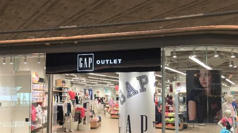 【東涌新店】全港首間7千呎Gap Outlet開幕!獨家優惠全場男女童裝/衛衣$59起