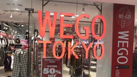 【減價優惠】WEGO全線分店減價折上折$59起!買2件或以上即享全單半價