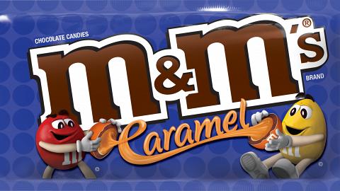 M&M's朱古力新口味登場! 全新焦糖軟心牛奶朱古力