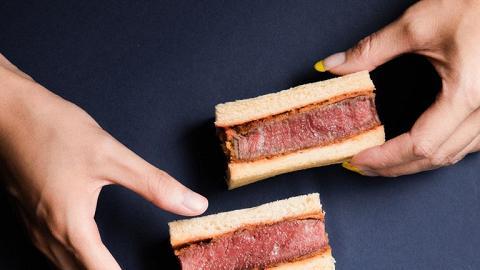 【灣仔美食】灣仔利東街日本人氣咖啡店 新推期間限定吉列和牛三文治