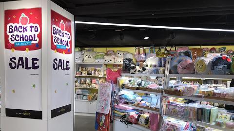 【減價優惠】旺角精品店卡通文具精品5折起!圖書小說$88任揀4本