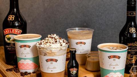 【荃灣美食】Baileys再度聯乘Favilla Café! 推出Baileys沙冰/latte/Mocha