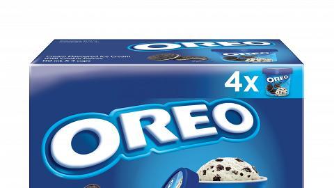 OREO雪糕杯多件裝登陸各大超市 限時七日優惠$49.9四杯盒裝