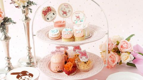 【中環美食】中環夢幻粉紅主題Café限定 MyMelody下午茶+卡通造型蛋糕登場