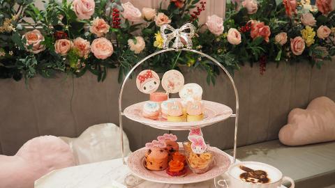 【中環美食】中環夢幻粉紅Café限定MyMelody下午茶 卡通造型蛋糕/限量禮品盒