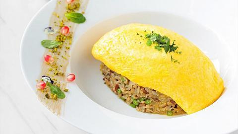 【銅鑼灣美食】Lady M推出全新日式蛋包飯! 法式洋蔥汁糙米蛋包飯新登場