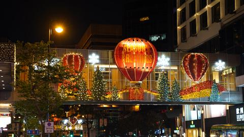 【聖誕好去處2019】尖沙咀聖誕燈飾亮燈 巨型LED燈牆/空中花海