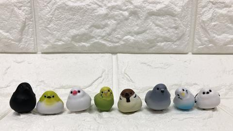 BANDAI推出8款雀仔數據線配飾扭蛋!鸚鵡/烏鴉/燕子/麻雀/白鴿「抓住」充電線