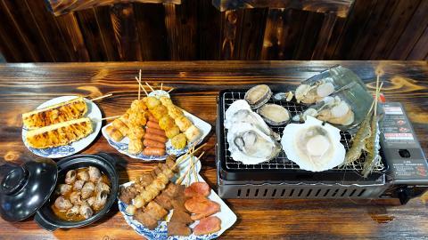 【銅鑼灣美食】銅鑼灣新開$198燒烤放題 任飲任食超過50款串燒+磯燒海鮮