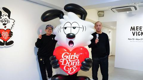 【中環好去處】日本街頭藝術家Verdy展覽 免費睇7呎巨型Vick雕塑+畫作