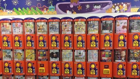 【荃灣好去處】荃灣新開卡通扭蛋店!傳統硬幣扭蛋機/特價$10扭蛋區