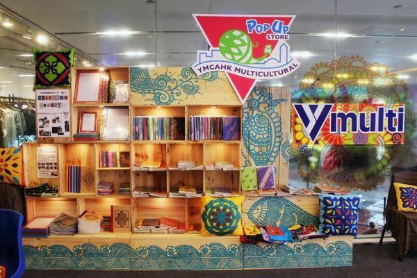 Pop Up Store 位於商場1樓。