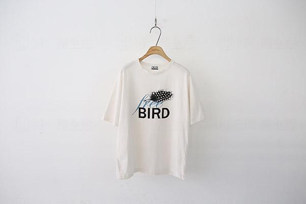 Cherrykoko Bird印字Tee 標準價:$278 優惠價: 8折
