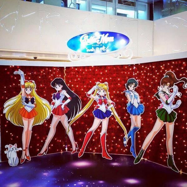 銅鑼灣美少女戰士Pop-up Store  4.25開幕 (圖:FB@Jimyan)