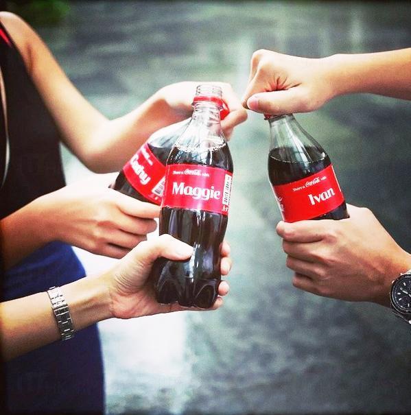 可口可樂隱形汽水機 免費請飲可樂 (圖:IG@Coca-ColaHK)
