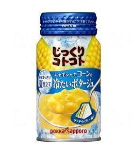 OK便利店限定粟米凍湯(圖:Pokka Sapporo)