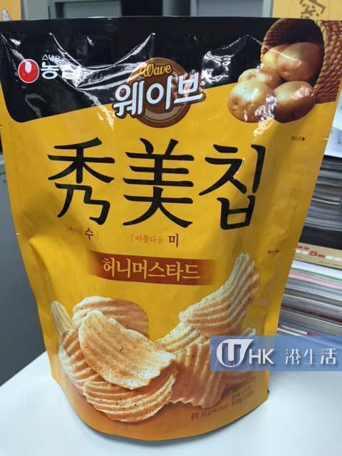 韓國大熱蜂蜜芥末味薯片 香港2間超市都有得買!