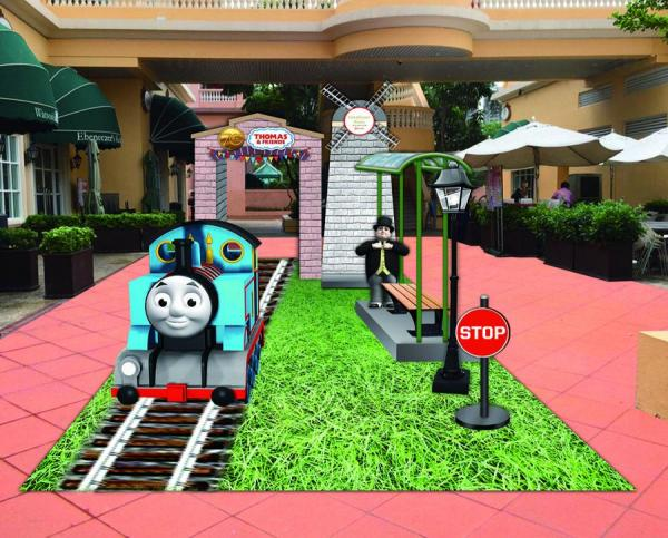 Thomas & Friends 3D車站布置